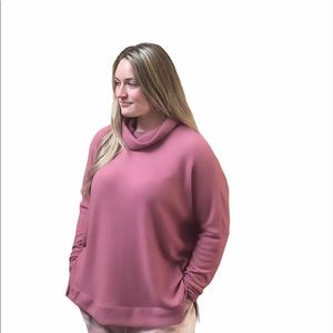 SUPER SOFT BRUSHED HACCI LONG SLEEVE TURTLE NECK